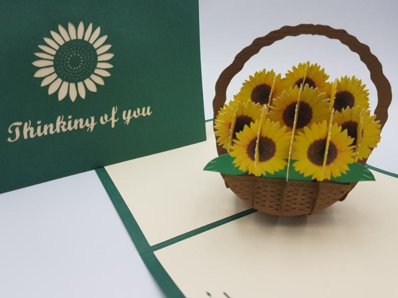 Thinking of you Sunflower basket