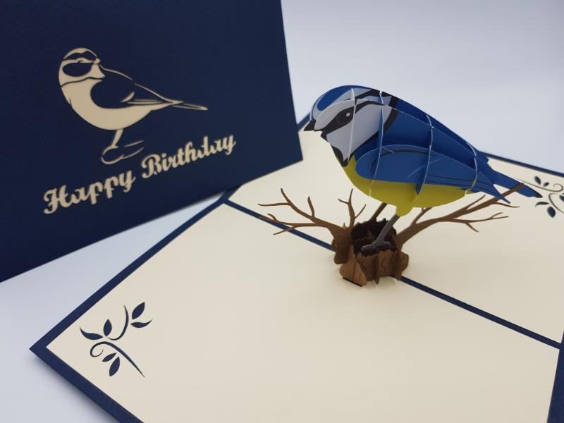 Birthday Blue tit