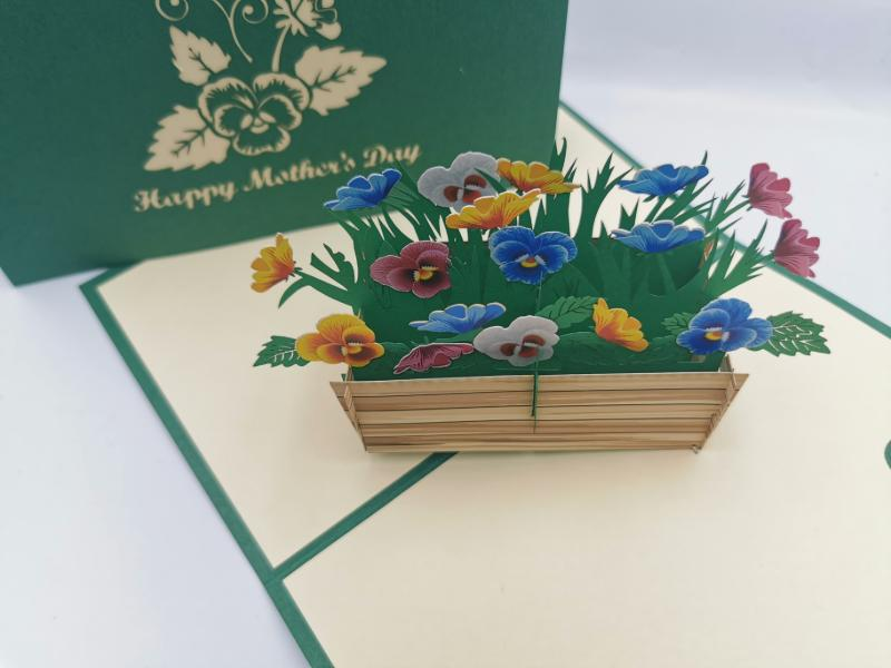Mother's Day Flower Crate