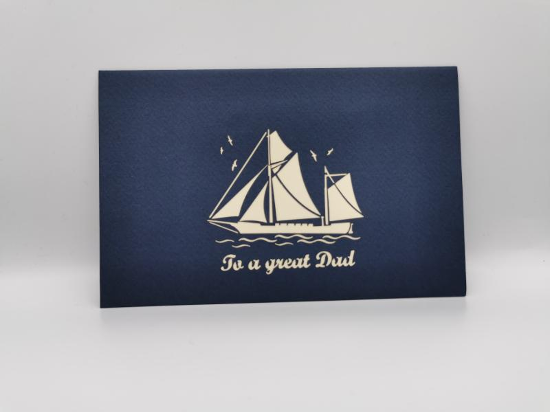 'To a great dad' boat