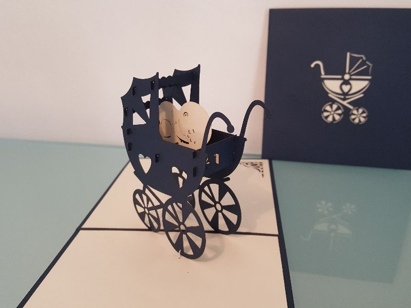 Baby Carriage - Navy