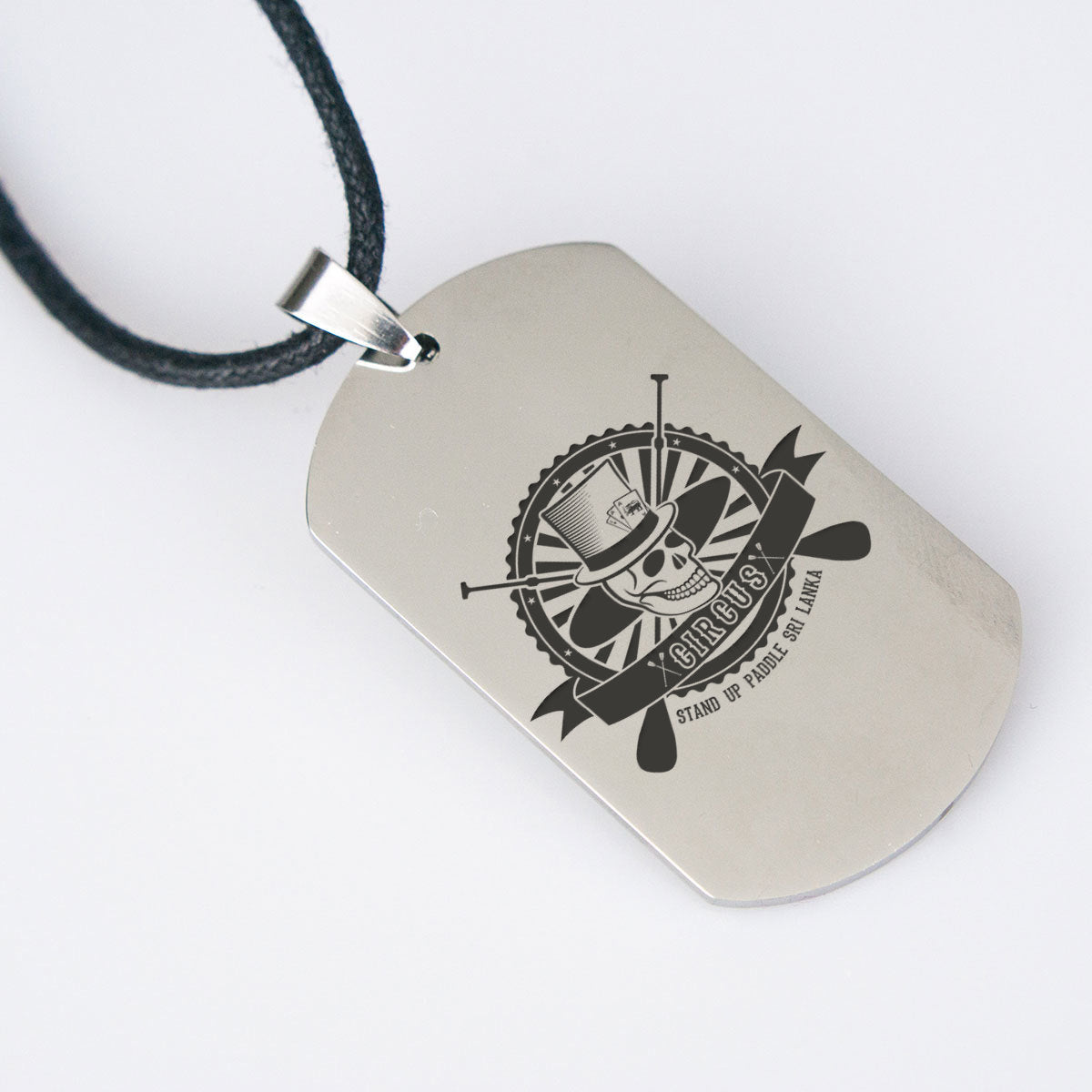 CIRCUS SUP Dogtag Necklace