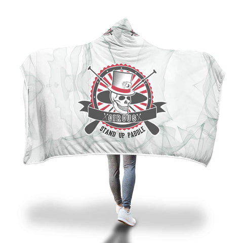 CIRCUS SUP hooded Blanket
