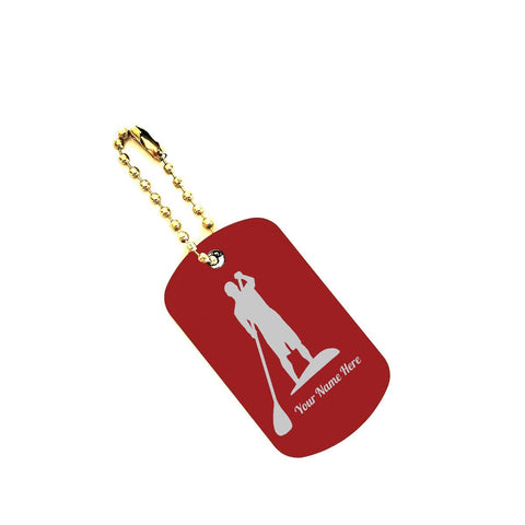 Keychain Dogtag with your Name on it