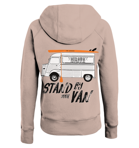Stand By Your Van Ladies Organic Hoodie