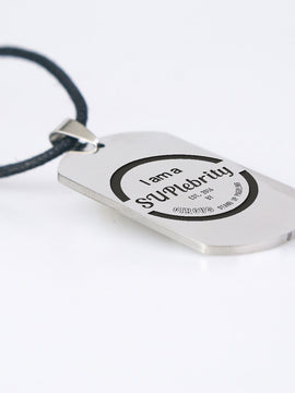 SUPlebrity Dogtag Necklace