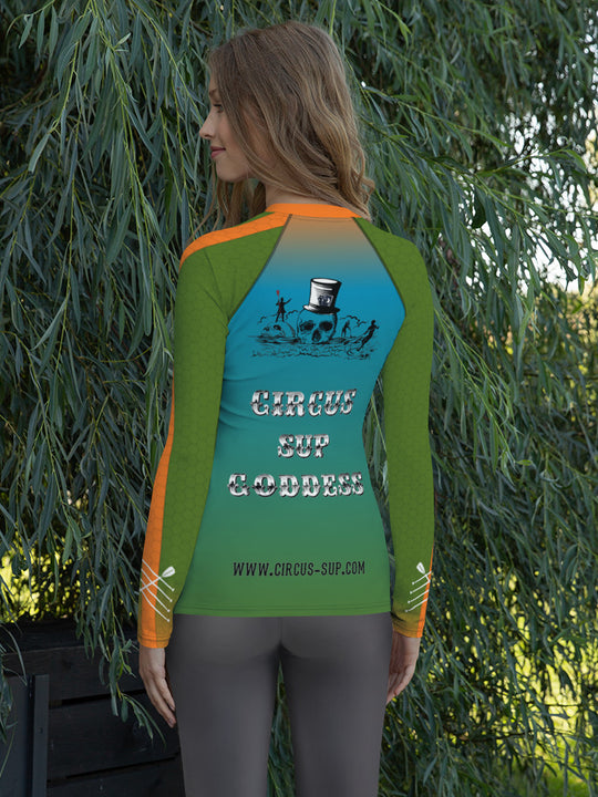 CIRCUS SUP GODDESS - Damen Rash Guard