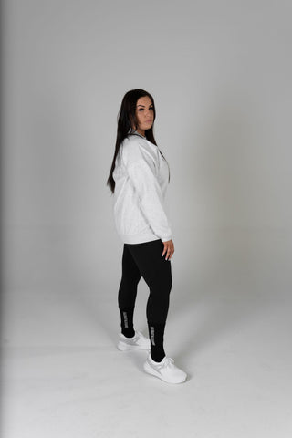 WOMENS GREY CREWNECK WINDCHEATERS