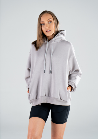 WOMENS DOUBLE HOODED HOODIE
