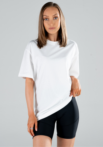 WOMENS OVERSIZED CREWNECK TEES