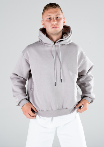 MENS DOUBLE HOODED HOODIE