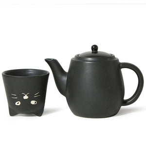 For One Kitty Tea Set