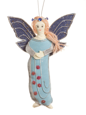 Blue Fairy Ornament