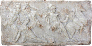 Battle Between Greeks and Amazons