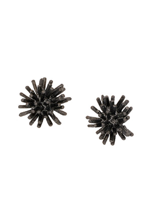 Gone to Seed Large Gunmetal Studs