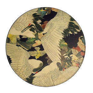 Japanese Cranes Mouse Pad