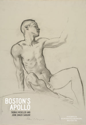 Seated Male Nude; Boston's Apollo Exhibition Poster
