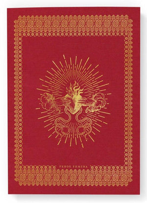 Red Femina Ferox Notebook