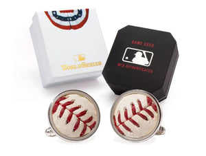 Red Sox Baseball Cuff Links