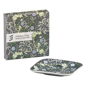 Square Floral Tinket Tray
