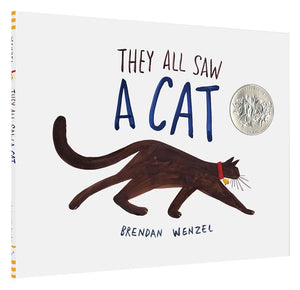 They All Saw A Cat Children's Book by Brendan Wenzel