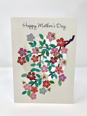 Bees & Flowers Mother's Day Card