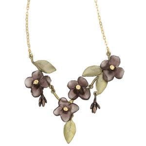 Wood of Life Mini-Statement Necklace