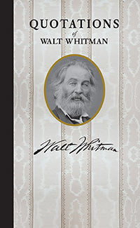 Walt Whitman Quote Book