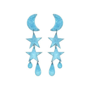 Little Blue Twilight Earrings