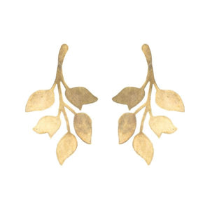 Single Gold Ophelia Earrings