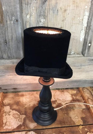 Small Top Hat Lamp