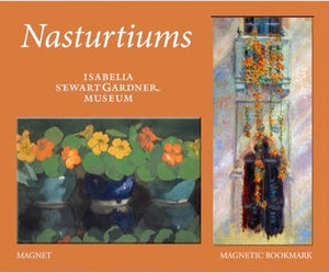 Nasturtiums Magnet and Bookmark Set