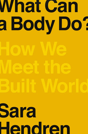 Book cover with title, subtitle, and author name in bold text over a mustard yellow background