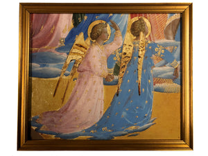 Fra Angelico -  Assumption Diptych, Left