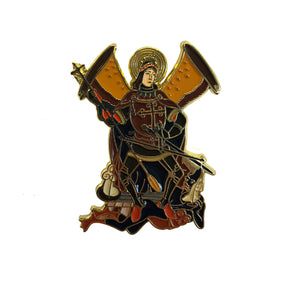 St. Michael the Archangel Enamel Pin