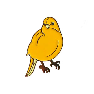 Whistler Canary Enamel Pin