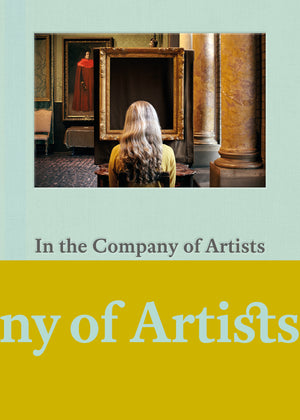 """In the Company of Artists"" Exhibition Book Cover, at the Gardner Museum"
