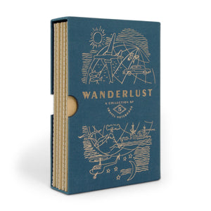 Wanderlust Set/5 Undated Travel Planners