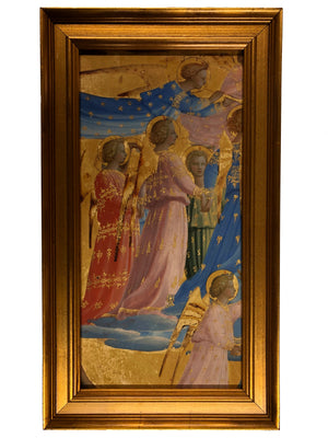 Fra Angelico - Assumption Triptych, Left