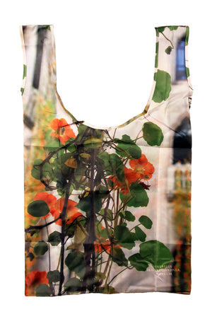 Nasturtium Tote with Carry Bag