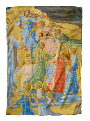 Fra Angelico Dormition Silk Scarf