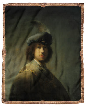 Rembrandt Self Portrait Silk Scarf