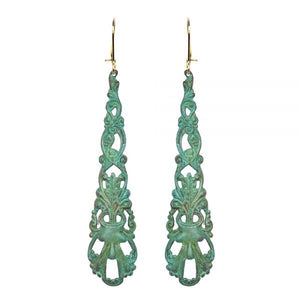 Anais Verdigris Earrings