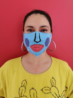 Azul Face Mask