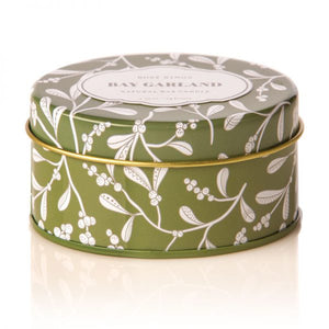 Bay Garland Travel Candle