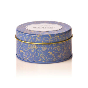Beach Daisy Travel Candle