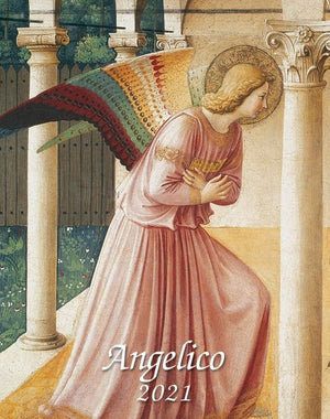 Angelico Small Desk Calendar 2021