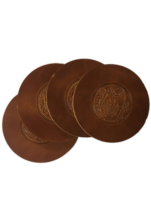 Todder x ISGM Gardner Crest Coaster Set of Four