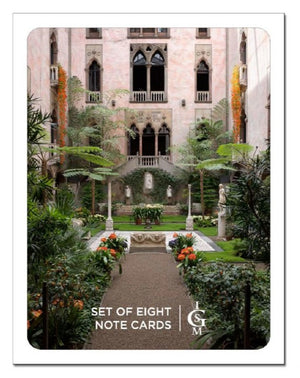 Courtyard Note Card Set