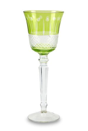 Lime Glam Wine Goblet